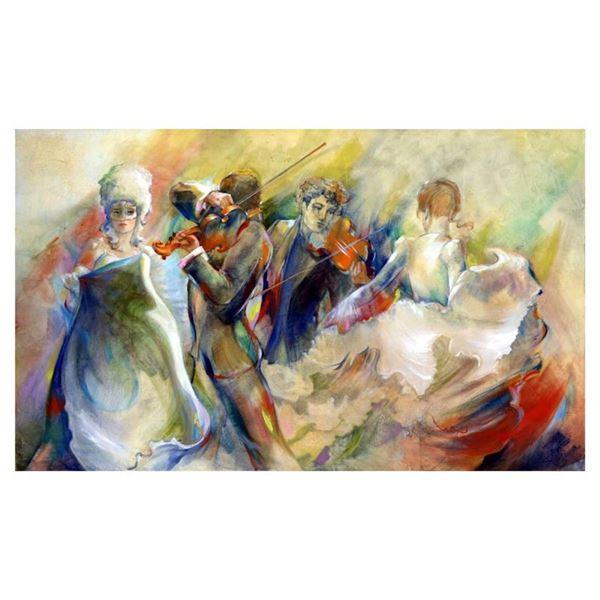 """Lena Sotskova, """"Carnival"""" Hand Signed, Artist Embellished Limited Edition Giclee"""