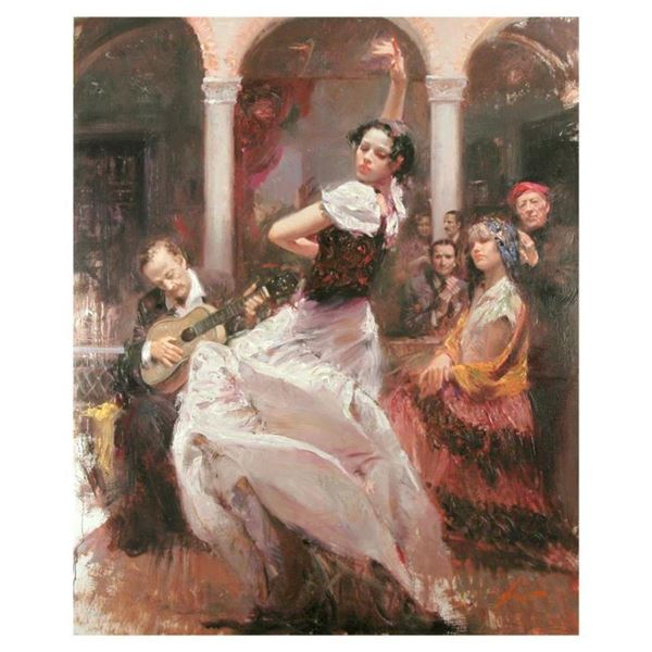 """Pino (1931-2010), """"Seville In My Heart"""" Limited Edition on Canvas, Numbered and"""