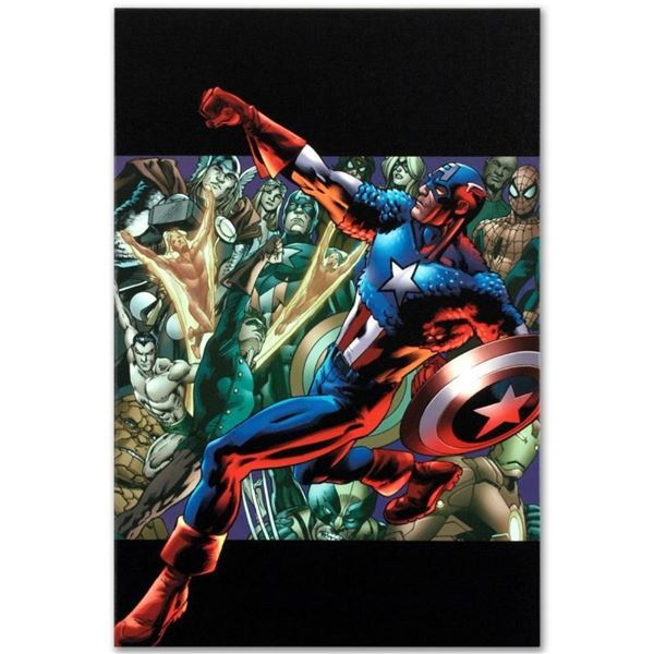 """Marvel Comics """"Captain America: Man Out of Time #5"""" Numbered Limited Edition Gic"""