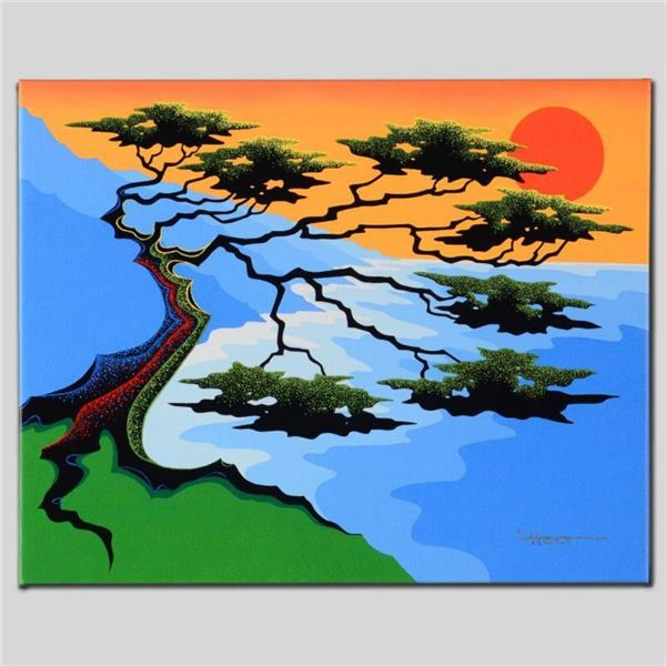 """""""Sunset"""" Limited Edition Giclee on Canvas by Larissa Holt, Numbered and Signed."""