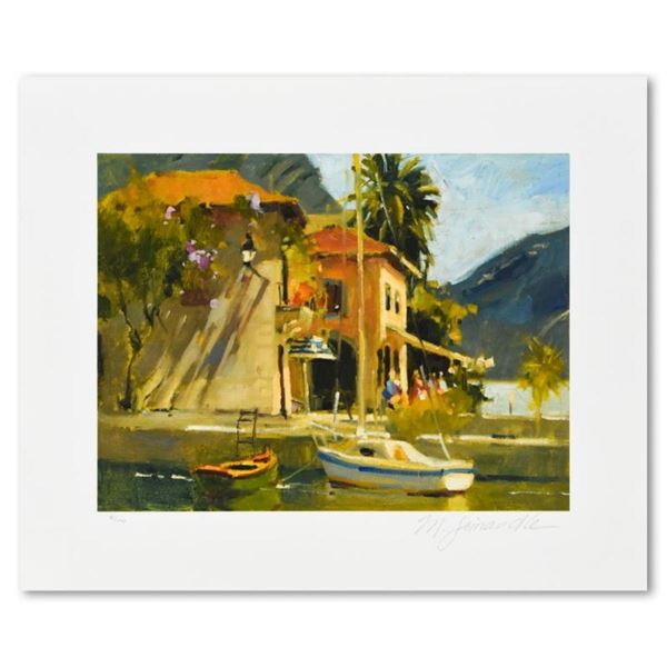 """Marilyn Simandle, """"Limone"""" Limited Edition, Numbered and Hand Signed with Letter"""