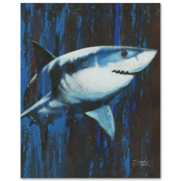 """""""Silent Killer"""" Limited Edition Giclee on Canvas by Stephen Fishwick, Numbered a"""