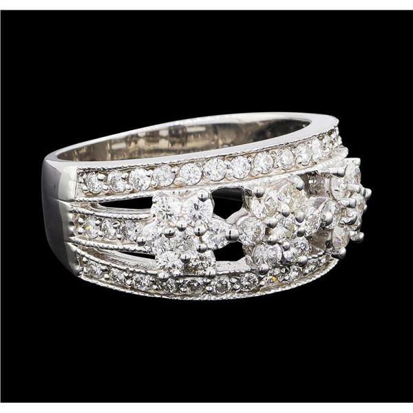 1.18 ctw Diamond Ring - 14KT White Gold