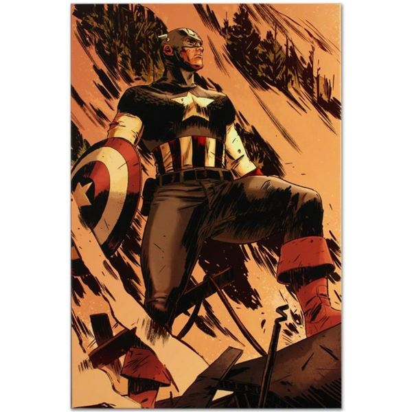 """Marvel Comics """"Operation Zero-Point #1"""" Numbered Limited Edition Giclee on Canva"""