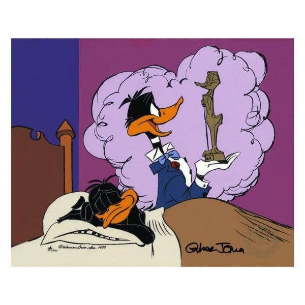 """Chuck Jones """"Daffy Ducks Impossible Dream"""" Hand Signed, Hand Painted Limited Edi"""