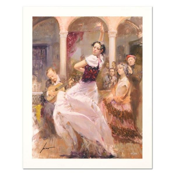 """Pino (1939-2010) """"Seville In My Heart"""" Limited Edition Giclee. Numbered and Hand"""
