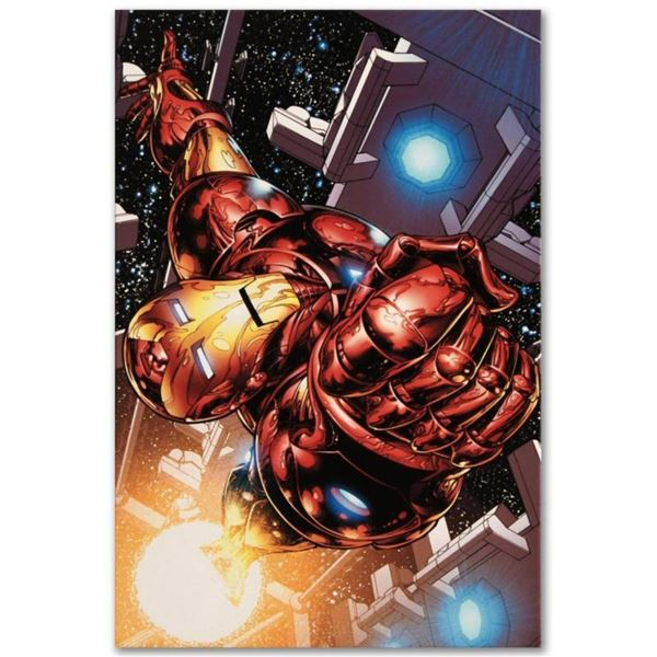 """Marvel Comics """"The Invincible Iron Man #1"""" Numbered Limited Edition Giclee on Ca"""