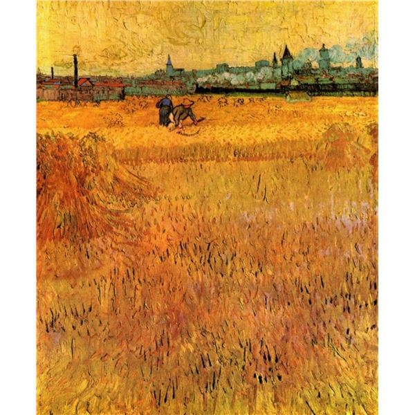 Van Gogh - Arles View From The Wheat Fields
