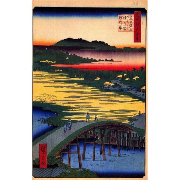 Hiroshige Sugatami Bridge