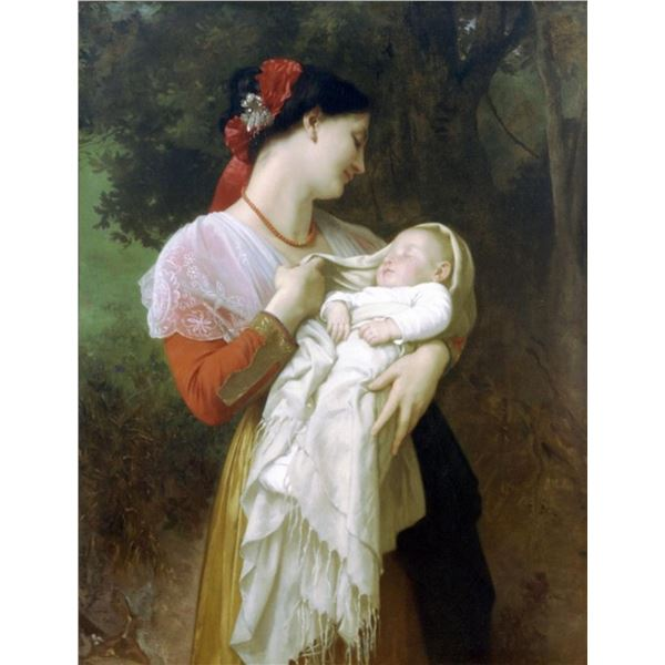 William Bouguereau - Maternal Admiration