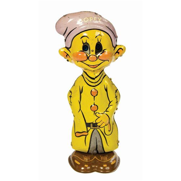 Marx Dopey Wind-Up Tin Toy.