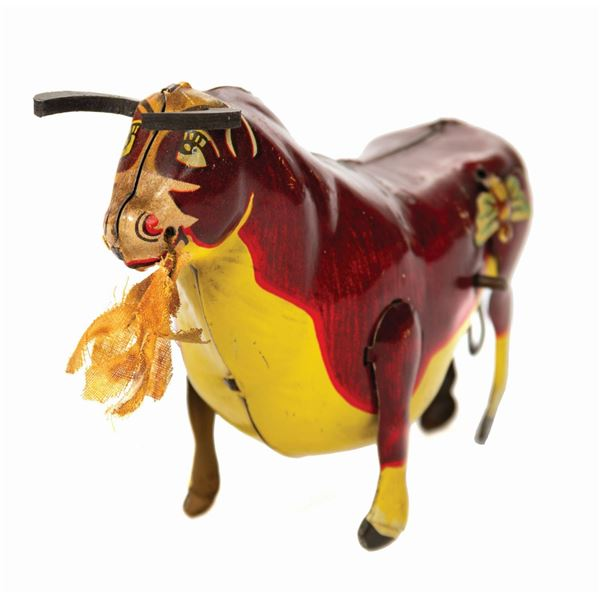 Marx Ferdinand the Bull Tin Toy.
