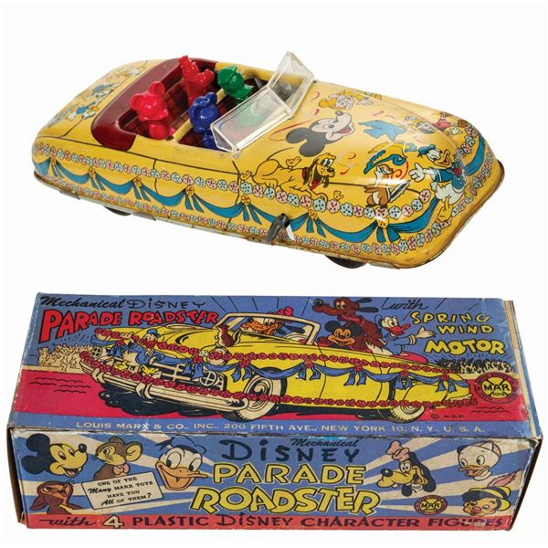 Marx Disney Parade Roadster Tin Toy.