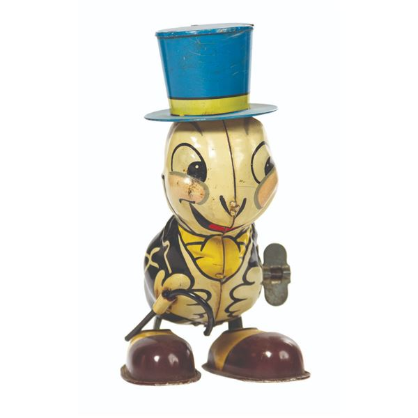 Linemar Jiminy Cricket Tin Toy.