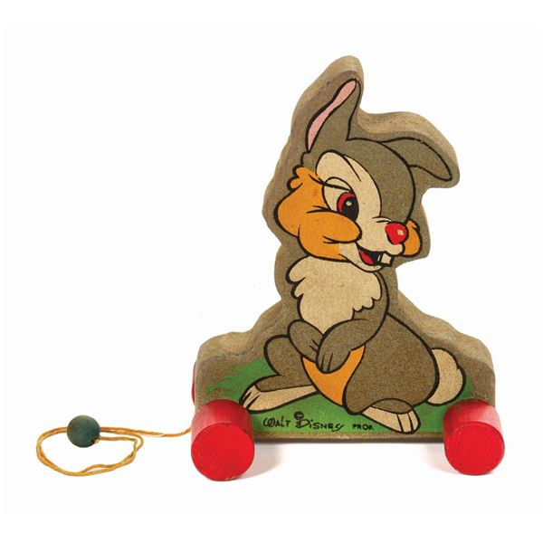 Thumper Wooden Pull Toy.