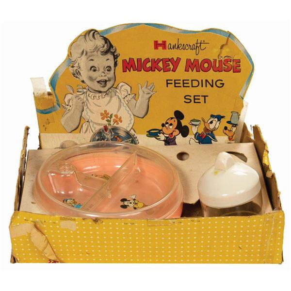 Hankscraft Mickey Mouse Feeding Set.