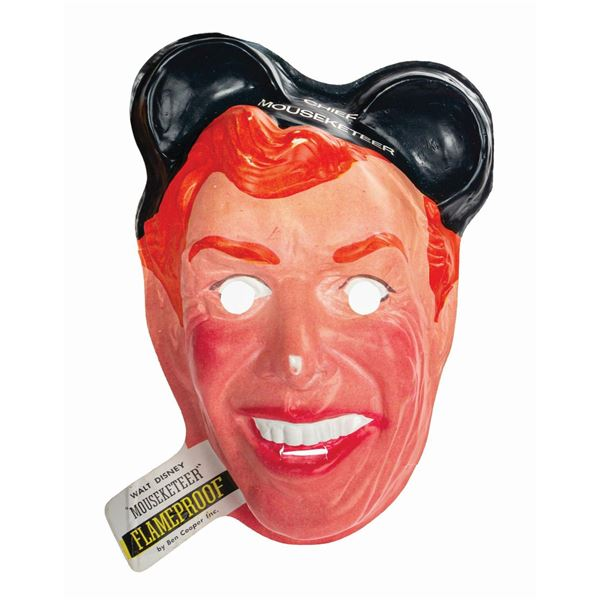 Ben Cooper Jimmie Dodd Mouseketeer Mask.