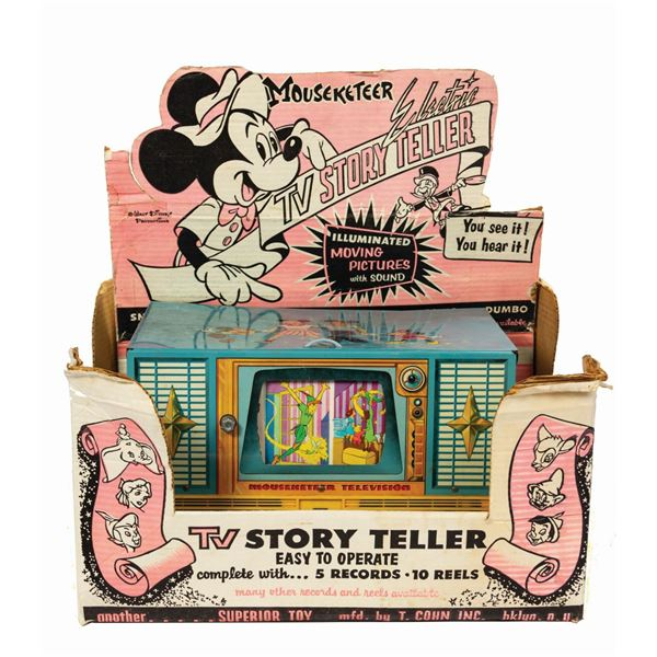Mouseketeer TV Story Teller Record Player Viewer.
