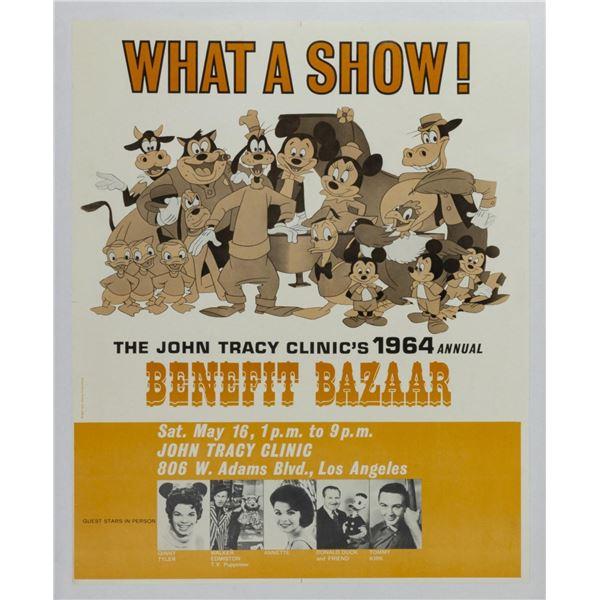 Benefit Bazaar Walt Disney Special Event Poster.