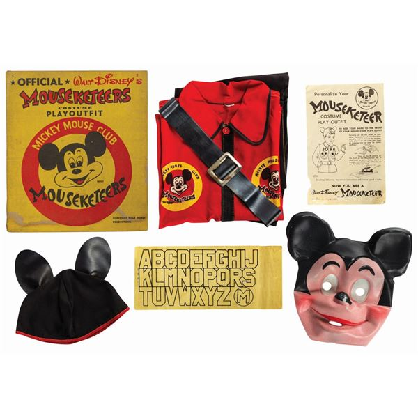 Ben Cooper Mouseketeers Costume Playoutfit.