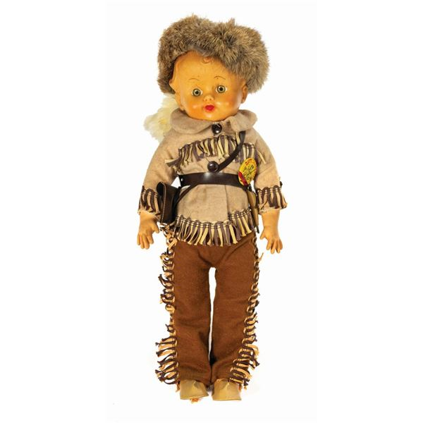 Davy Crockett Indian Scout Doll.