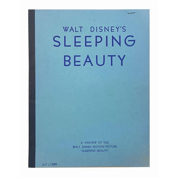 Walt Disney's Sleeping Beauty Preview Booklet.