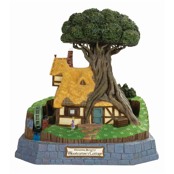 Sleeping Beauty Woodcutter's Cottage Magical Big Fig.