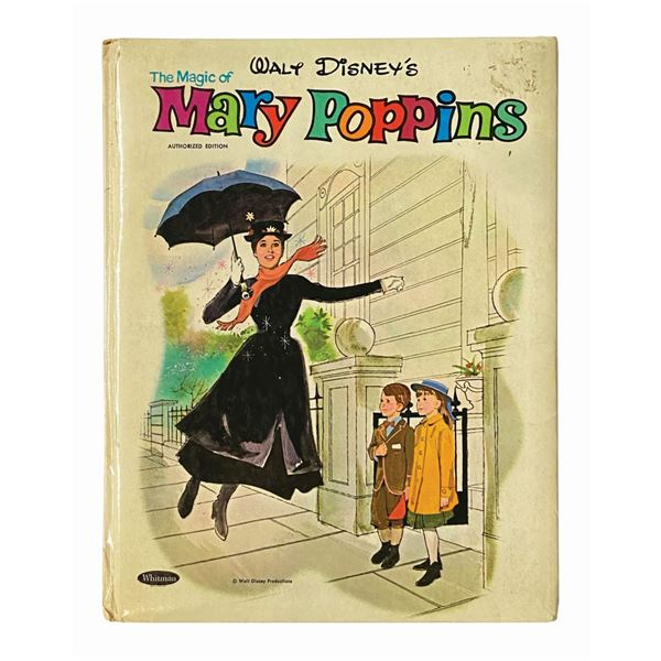 Richard Sherman Signed The Magic of Mary Poppins Book.