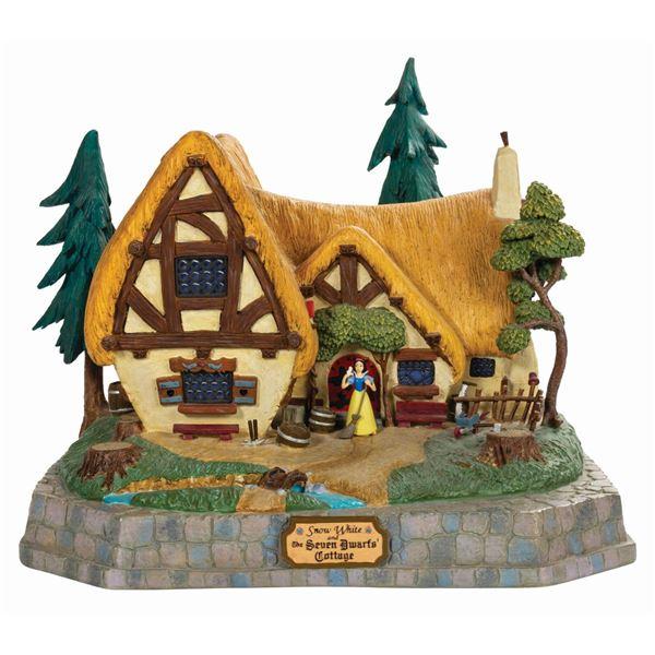 Snow White & the Seven Dwarfs Cottage Magical Big Fig.
