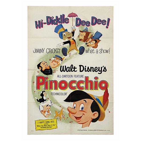 Pinocchio 1-Sheet Poster.