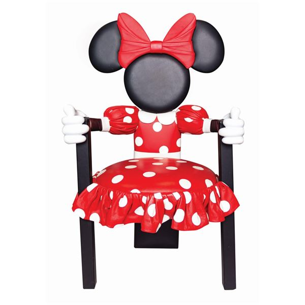 Minnie Mouse Formal Dining Chair by Paddy Gordon.