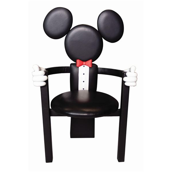 Mickey Mouse Formal Dining Chair by Paddy Gordon.
