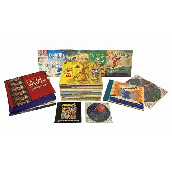 Collection of (55) Classic Disney Records.