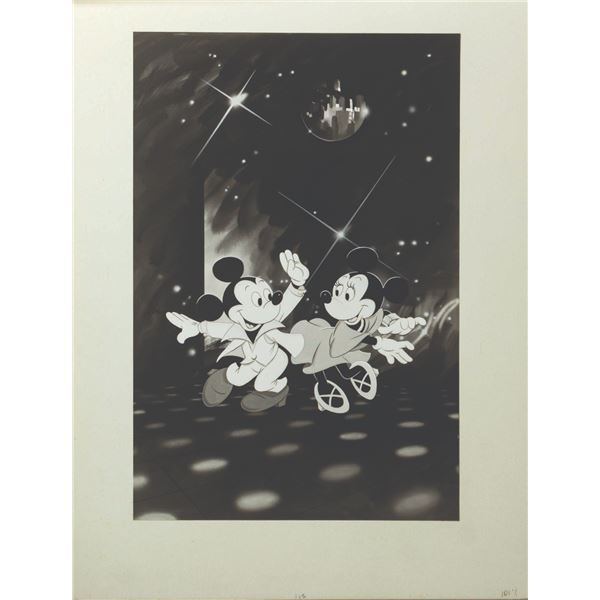 Mickey Mouse Disco Enhanced Production Artwork.