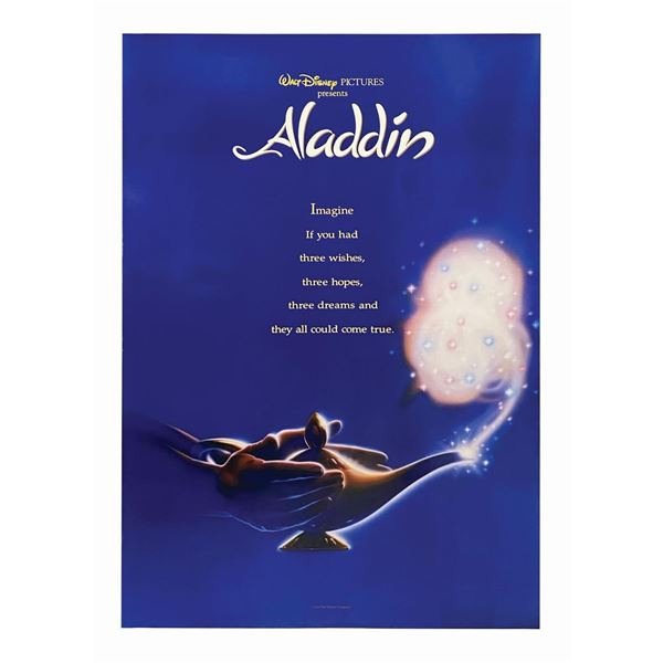 Aladdin International Advance 1-Sheet Poster.