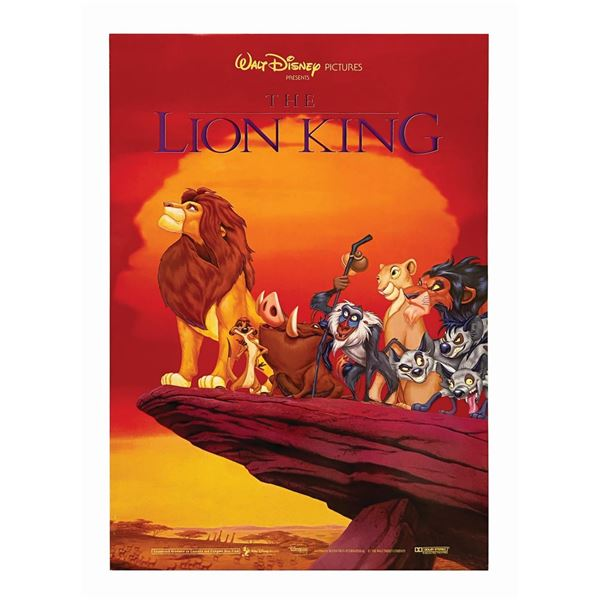Lion King International 1-Sheet Poster.