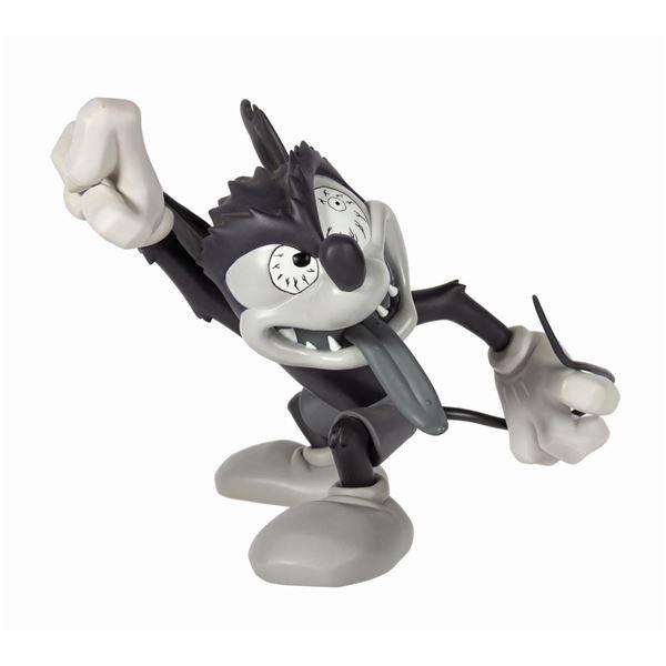 Runaway Brain Mickey Black & White Figure by Kozik.