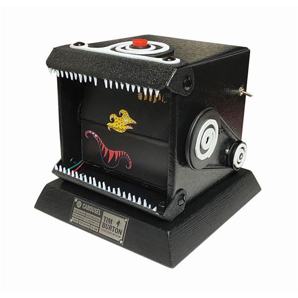 """""""Carousel"""" Tim Burton Motorized Flipbook."""