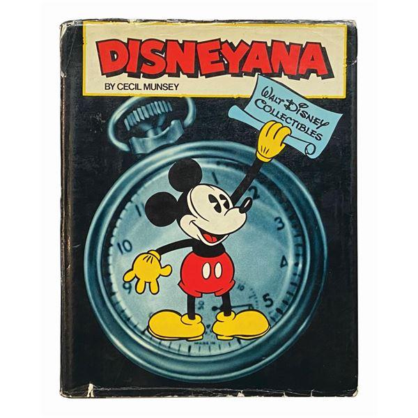 """Multi-Signed """"Disneyana"""" Hardcover Book."""