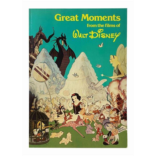 Multi-Signed Films of Walt Disney Book.