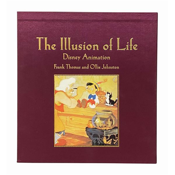 The Illusion of Life Signed Limited Edition Book.