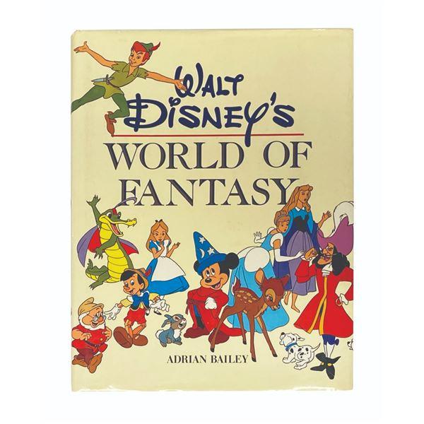 "Multi-Signed ""Walt Disney's World of Fantasy"" Book."