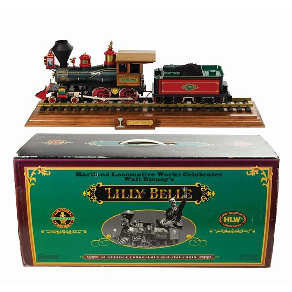 Hartland Lilly Belle G-Scale Engine and Tender.