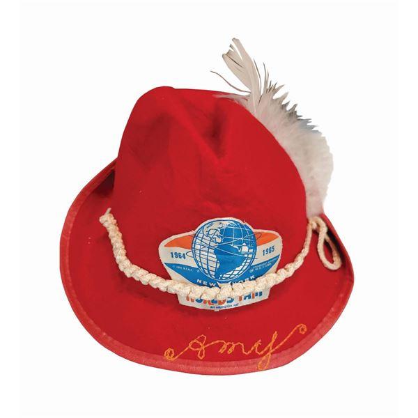 1964-65 World's Fair Child's Hat.