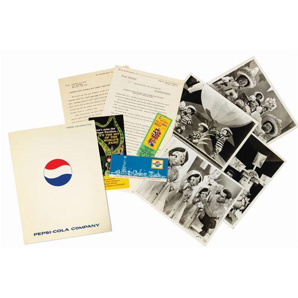 Pepsi World's Fair Press Kit.