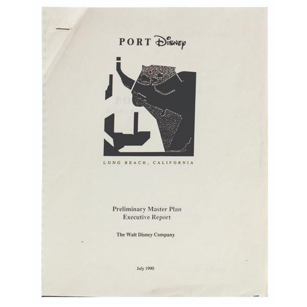 Port Disney Preliminary Master Plan Executive Report.