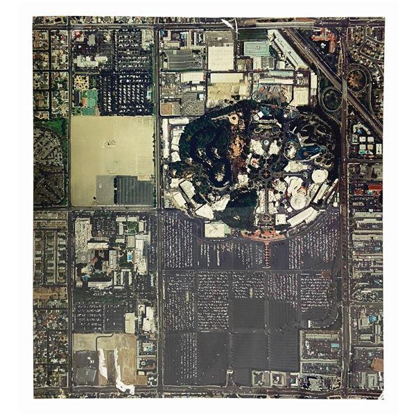 Disneyland Oversize Aerial Photograph.