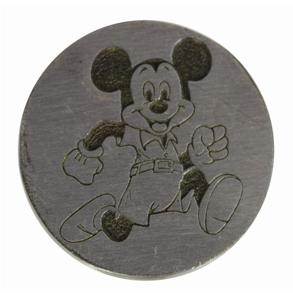 Milt Albright's Mickey Mouse Belt Buckle.