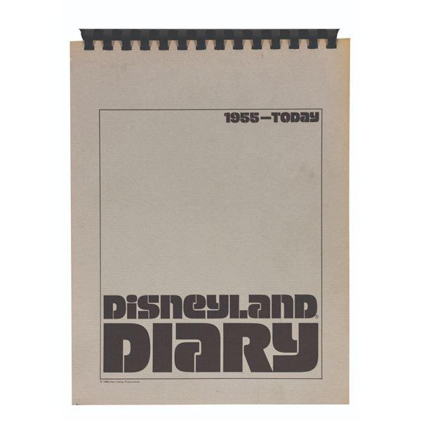 Milt Albright's Disneyland Diary Cast Member Book.