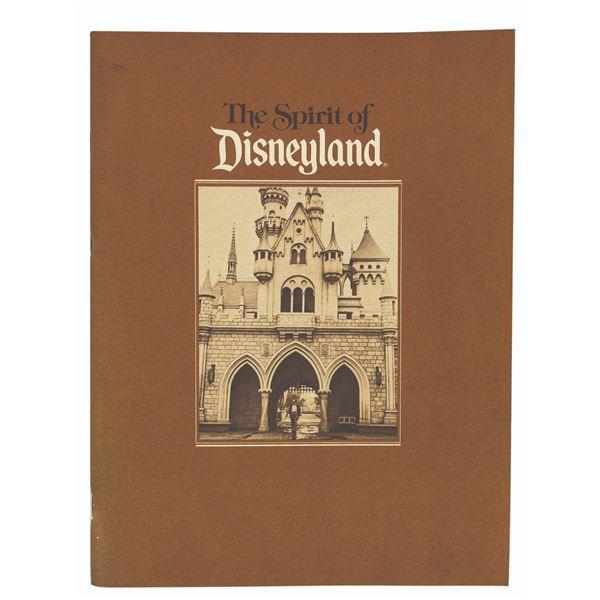 Milt Albright's The Spirit of Disneyland Book.